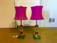Super cute lamps set of 2 Cottonwood Heights