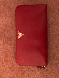 red and black leather wallet Ingatestone, CM4 0BL