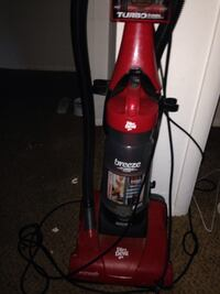 red and black Dirt Devil upright vacuum cleaner Tulsa, 74134
