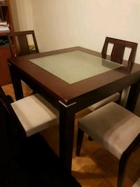 Dinning table with four chairs  Toronto, M4C 5L7