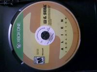 Xbox One game Alien Isolation disc Montreal, H4A