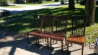 Solid wood chairs Westerville, 43081