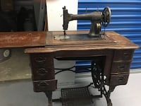 1908 antique white rotary treadle sewing machine Gaithersburg, 20879
