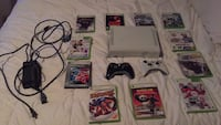 Xbox 360 with games and 2 controllers Thunder Bay, P7C 4N2