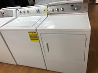 GE white washer and dryer set 47 km