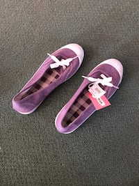Women's Spring Flats by Airwalk- Shoes in Purple New