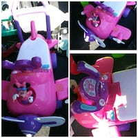 pink and purple ride on toy London, 43140