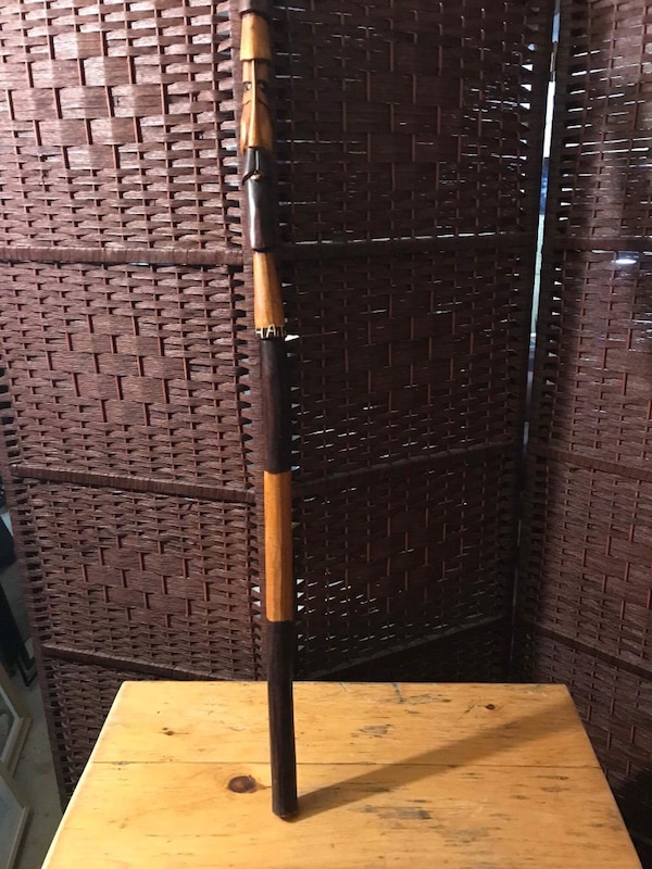 brown woven 3-panel dividers