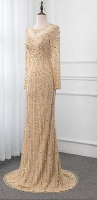 Gold Dress/Evening Gown CALGARY