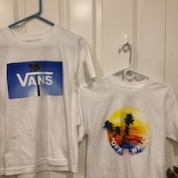 White vans shirts Oxnard, 93036