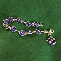 Sterling silver evil eye bracelets Glen Burnie, 21061
