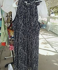 women's black and white dress McAllen, 78501