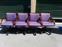 4 MATCHING TASK CHAIRS  Bel Air, 21014