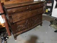 brown wooden 3-drawer chest Barrie, L4N 8W4