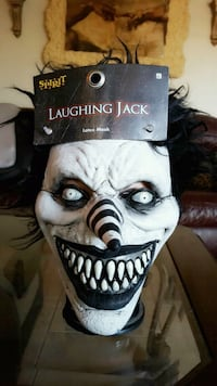 Laughing jack mask nwt El Paso