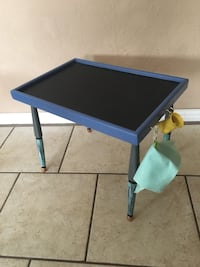 $20 firm SALE hand built chalkboard table Lawton, 73505