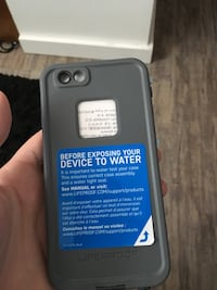 Life proof cares iPhone 6plus bland new  Coquitlam, V3K 6C4