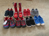 Assorted Boys shoes size 9