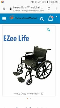 black and gray motorized wheelchair screenshot Edmonton, T5T 1Y1