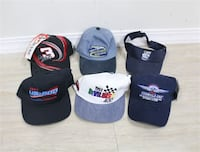 Collectable Racing Hats (6) $35   Brook Park