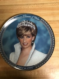 A Tribute to Princess Diana from the Franklin Mint Cockeysville