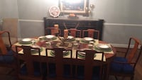 Rose Wood dining table set - a rare find  Centreville, 20120