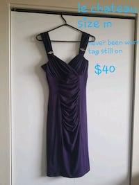 women's purple sleeveless dress St. Albert, T8T 1R8