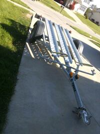 2006 thule 2 rail motorcycle trailer