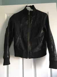 Danier Leather Jacket size XS fits like a small, purchased for $230