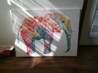 Huge elephant painting  Fairview, 28730