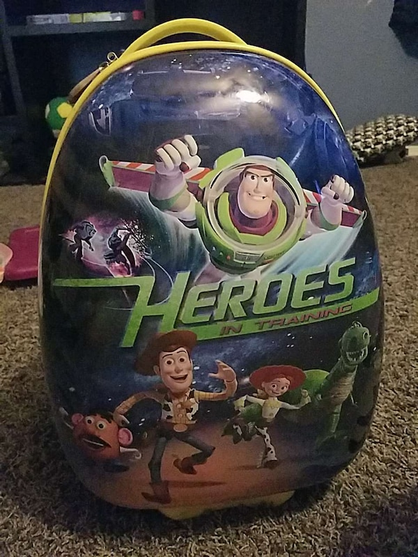 Toy Story luggage for kids