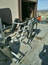 gray and black exercise equipment Apple Valley, 92308