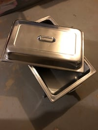 Collection of food warmers 9 mi