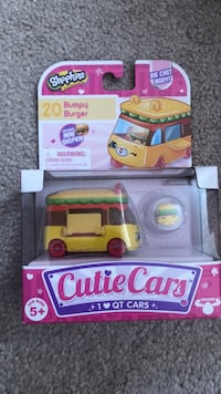 Green and yellow hot wheels car toy pack