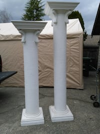 2x6' plus 2x7' Pillars for$ 250.00 for all 4 Surrey, V4N 2R3