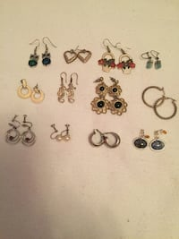 Assorted earrings ($1 each) Ottawa, K1K