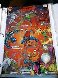 Spiderman card large Catonsville