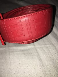 Red Fendi belt Montréal, H1K 1B7