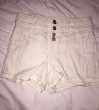 White Body Central high waisted shorts size 5 $4 Carl Junction