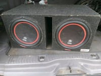 2 db drive 1500w speakers in ported box Wanette, 74878