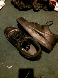Low top air force ones black or trade Clarksville, 37042