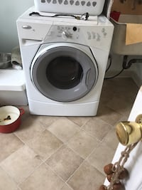 White front-load clothes washer Whittier, 90604