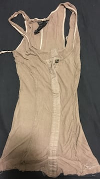 Guess brown tank top Vancouver