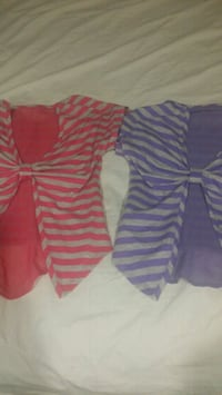 women's two pink and purple dresses Warrenville, 29851