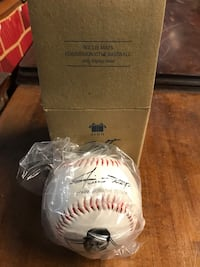 Willie Mays signed baseball  Washington, 18013