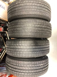 Michelin X-Ice Snow tires with rims-225/65/R17 Bolt Pattern 5x120