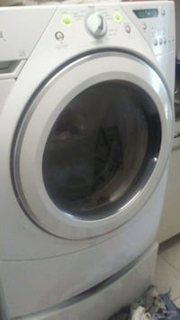 white front-load clothes washer Port Charlotte, 33952