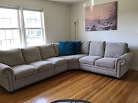 4-Piece Beige Sectional