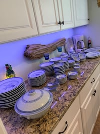 117 piece Blue/White Asian dishes Ormond Beach, 32174