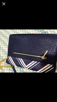 Blue and white Aldo leather crossbody bag Toronto, M3M 2M4